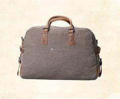 Canvas-and-Leather-Weekender-Bag-4 Rucksack Bag, Canvas Shoulder Bag, Weekender, Laptop, Leather, Bags, Handbags, Laptops, Bag