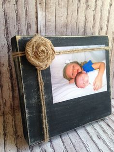 Wooden Picture Holder by bstreetboutique on Etsy, $20.00