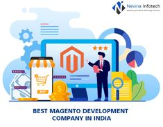 Looking to customize ecommerce development services? Nevina Infotech, a magento development company in india provides state-of-the-art ecommerce solutions. We develop fully functional and highly personalized Magento extensions that are specifically designed to meet your needs. For your website, you can get the most aesthetically appealing pixel-perfect Magento themes that parallel your brand image. Avail of our magento development services. Email us your requirements for your magento web. Enterprise Development, App Development, Progressive Web Apps, Ecommerce Solutions, Growing Your Business, Mobile App, Extensions, Meet, India