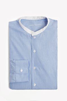 Striped Linen Shirt - casual shirts   Adolfo Dominguez