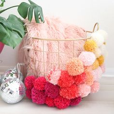 """2,444 Likes, 21 Comments - Elsie + Emma A Beautiful Mess (@abeautifulmess) on Instagram: """"@kailochic is sharing a super easy basket DIY on the blog tonight! ❤ #ABMcrafty"""""""