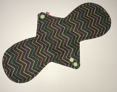 Excited to share the latest addition to my #etsy shop: 13 inch reusable cloth pad moderate regular flow #reusablepads #menstrualpad #clothpads