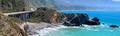 Limekin State Park. Amazing! right on the beach off highway 1 in Big Sur, CA. Must camp there!