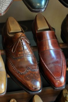 Oxford brogue, loafer by Corthay