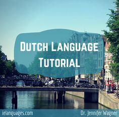 Dutch Language Tutorial is a 100 page PDF e-book that includes: a grammar and vocabulary review of Dutch that covers verb tenses, word order, adjectives, nouns, and common topics such as family, home, work, transportation, food, etc., one hour of mp3 recordings by a native speaker so you can listen and read at the same time as well as comprehend the distinct sounds of Dutch, realia photos of public signs and menus taken in the Netherlands and Belgium so you can see how the Dutch language is…