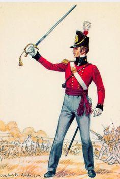 1st Foot- Lieutenant - 1815
