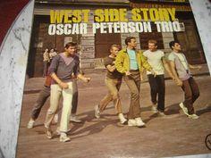 WEST SIDE STORY OSCAR PETERSON TRIO RECORD V-68454