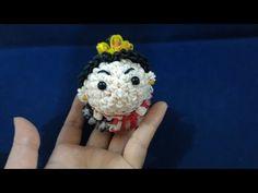 かぎ編み&ルーム(hook&loom)ハートの女王(Queen of Hearts)ツムツム(TSUM TSUM)レインボールーム(Rainbow loom) - YouTube