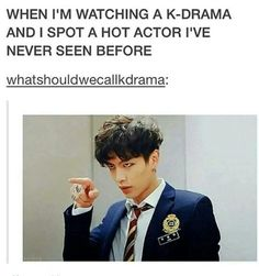 YAH, YOU! Imma stalk you hard right now xD - I don't watch K-drama but this was so funny Korean Drama Funny, Korean Drama Quotes, Funny Asian, Park Hae Jin, Park Seo Joon, Kdrama Memes, Funny Kpop Memes, Hwarang Funny, Bts Memes