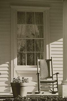 Vintage Farmhouse Porch