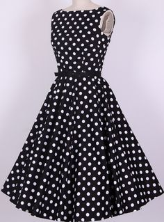 rockabilly pin up vintage dresses retro Audrey dress knee length long women new fashion swing polka dots vestidos plus size Pin Up Dresses, 50s Dresses, Pretty Dresses, Vintage Dresses, Beautiful Dresses, Cheap Dresses, Rockabilly Dresses, Rockabilly Style, Rockabilly Clothing