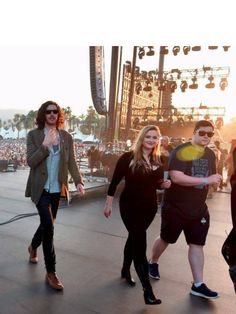 Hozier and the band :)