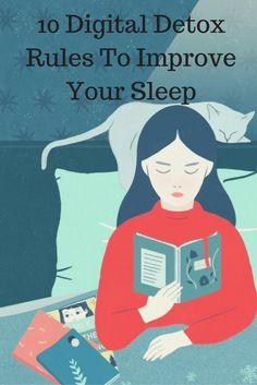 10 Digital Detox Rules To Improve Your Sleep