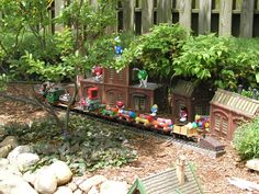 M&M 'factory' in layout
