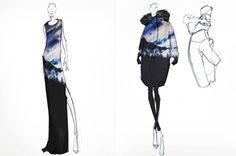 Fashion Sketchbook - fashion design drawings; womenswear collection development; fashion sketches; fashion portfolio // Joe Fresh
