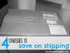 4 Strategies to Save on Shipping