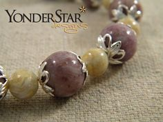 Memory Bead Bracelet - Chronicle Style made with your flowers