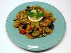Pompoenschotel met quinoa