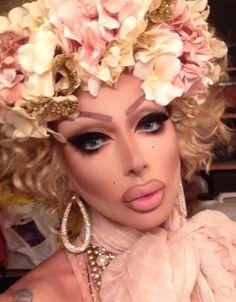 Raven (David Petruschin - US) Drag Makeup, Sexy Makeup, Flawless Makeup, Beauty Makeup, Raven Drag Queen, Drag Queen Make-up, Drag Queens, Raven Rupaul, Rupaul All Stars
