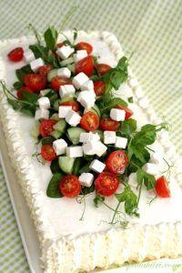 Savory Sandwich Cake