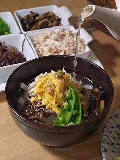 KEIHAN. chicken and vegetable-on-rice-bowl. . - [ Learn Japanese Words with Pinterest by webjapanese.com ]