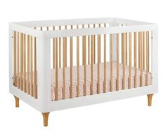 Discover the Babyletto Lolly Convertible Crib with Toddler Rail, White/Natural. Explore items related to the Babyletto Lolly Convertible Crib with Toddler Rail, White/Natural. Organize & share your favorite things (including wish lists) with friends. Wood Crib, Nursery Modern, Nursery Neutral, Convertible Crib, Crib Mattress, Crib Sheets, Nursery Furniture, Modern Furniture, Indoor Air Quality