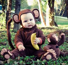 Kids Who Are Kicking Ass in Their Halloween Costumes Monkey Costumes, Animal Costumes, Baby Costumes, Cute Kids Pics, Cute Baby Pictures, Cute Photos, Kid Pics, Crazy Pictures, Children Costumes