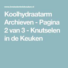 Koolhydraatarm Archieven - Pagina 2 van 3 - Knutselen in de Keuken