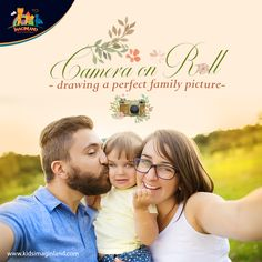 """""""Life is like a camera so, just keep on smiling to enjoy those precious moments with your little ones to make it a memorable journey forever and ever"""""""