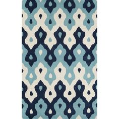 This inverted chevron area rug would be perfection in a modern nursery! Someone snatch this up. Great price, too.