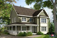 Classique | LAP0308 | Maison Laprise - Maisons pré-usinées