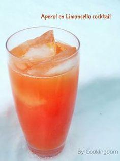 Een heerlijk frisse cocktail met Aperol en Limoncello! Om te toasten op het nieuwe jaar!