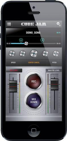 Roland Cube Jam app
