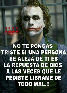Joker Frases, Frases Bts, Joker Quotes, Joker Heath, Quotes En Espanol, Spanish Quotes, Life Motivation, Life Lessons, Quotations