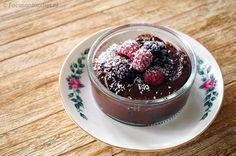 gezonde chocolade mousse zonder suiker