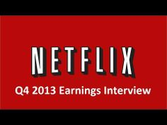 Netflix Shows how to Use Google Hangout for Earnings Video