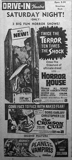 Horror House / The Crimson Cult