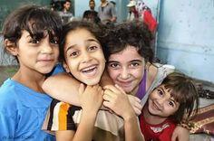 Palestinian girls from Gaza