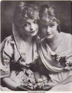 While living in NY in 1912, the sister's, Lillian & Dorothy Gish, became good friends with a next door neighbor, Gladys Smith. Gladys was a child actress who did some work for director D.W. Griffith and later took the stage name Mary Pickford.