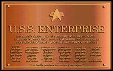 """Commisioning Plaque, Enterprise NCC - """"to boldly go where no man has gone before"""" Enterprise Ship, Star Trek Insignia, Trek Deck, Star Trek Starships, Star Trek Universe, Star Trek Ships, Live Long, Star Wars, Nerd Stuff"""
