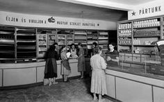 MTVA Archívum | Ipar - Kereskedelem - Földműves-szövetkezeti boltok