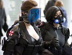 Umbrella Corp ladies