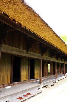 Front of the farm house from Shiiba, Miyazaki