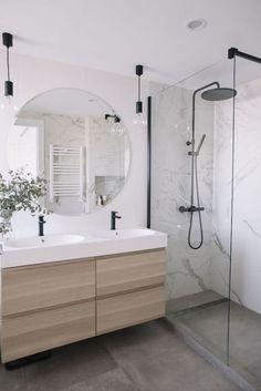 Modern Bathroom Design, Bathroom Interior Design, Contemporary Bathrooms, Bathroom Designs, Bath Design, Tile Design, Modern Contemporary, Design Design, Interior Decorating