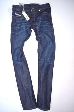 c1b31625 Men's DIESEL Zatiny 0806w Regular Relaxed Bootcut Jeans Size W26 L32 for  sale online   eBay