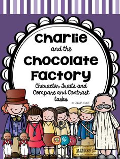 Charlie and the Chocolate Factory Book Test | TPT 3-5 Literacy ...