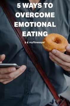 Emotional eating can be associated with eating in the absence of physical hunger as a way to ameliorate negative self-focused emotions. Without the ability to process our feelings, we may be more inclined to turn toward food and overeat or stress eat. A great starting step in determining whether emotions are affecting your eating is focusing awareness toward your eating habits. Here are five tips that can help. #MyFitnessPal #emotionaleating #stresseating