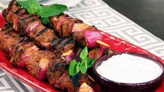 Grab some skewers and get grilling these classic Turkish kebabs with yogurt sauce by Chef Joshna Maharaj. Your taste buds will thank you! Serves 8 Ingredients Kebabs: 2 pounds boneless leg of lamb, trimmed and cut into 1 1/2-inch cubes...