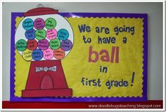 second grade welcome back to school bulletin board ideas | ...Back to School Bulletin Boards