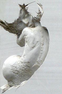 Sculpture outside Modern Art Museum, Guatemala City: 'Symbiosis' by Pascale Archambault